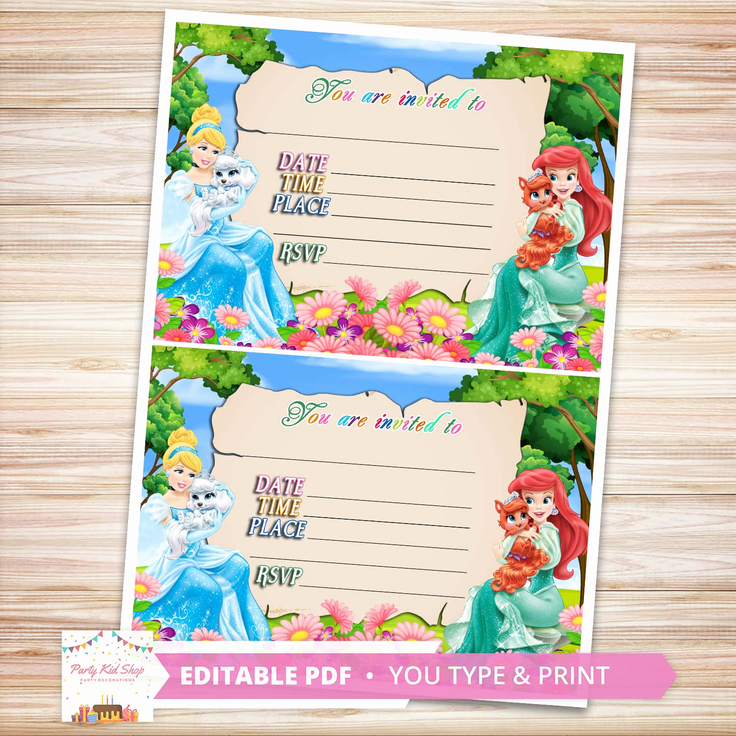 Disney World Invitation Letter Fresh Buy Disney Princesses Invitations at A Low Price