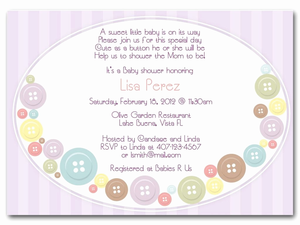 Display Baby Shower Invitation Wording Fresh Cute Wording for Baby Shower Invitations Cobypic