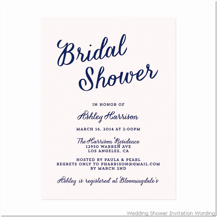 Display Bridal Shower Invitation Wording Beautiful Bridal Shower Invitation Wording