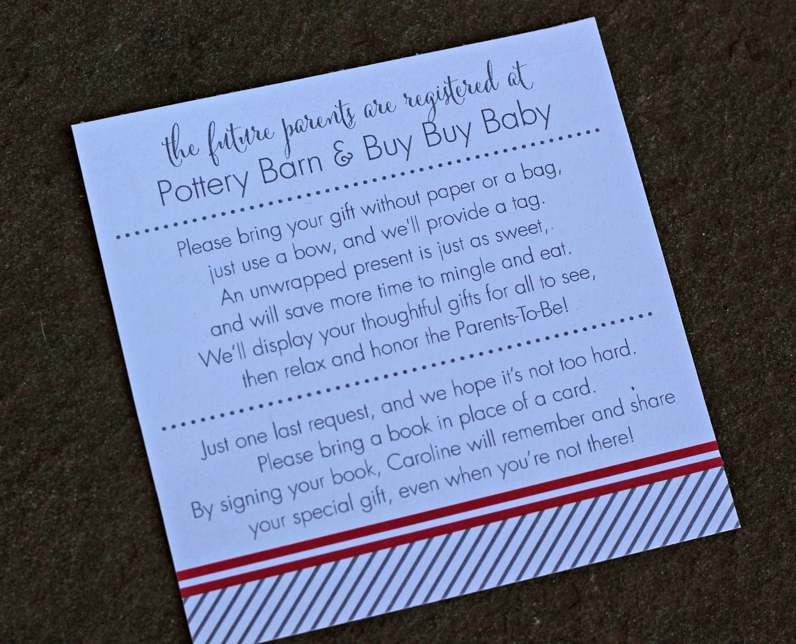 Display Bridal Shower Invitation Wording Luxury Saves the Three Hours Of Oohing and Aahing Over Diaper