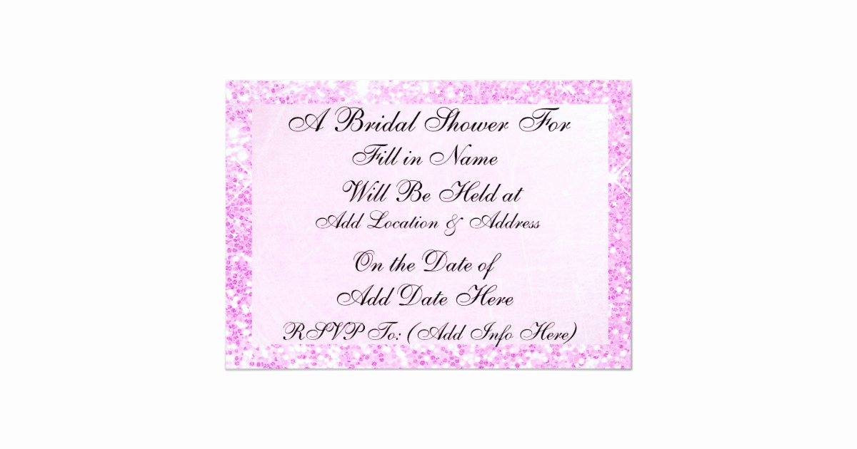 Display Shower Invitation Wording Inspirational Pink Candy Display Bridal Shower Invitation