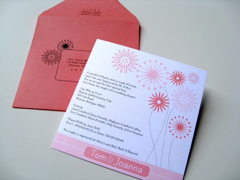Display Shower Invitation Wording New Plush Paper Design Blog Coral Bridal Shower Invitations