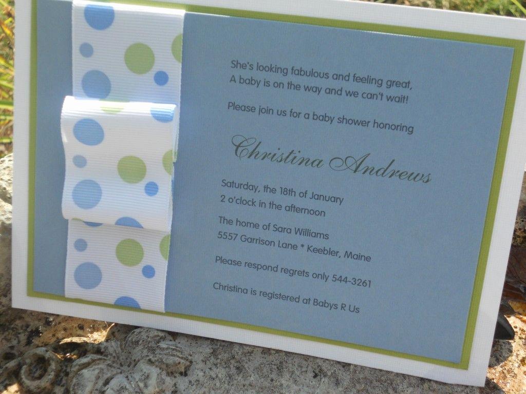 Diy Baby Shower Invitation Best Of Baby Shower Invitation Craft Ideas Pinterest
