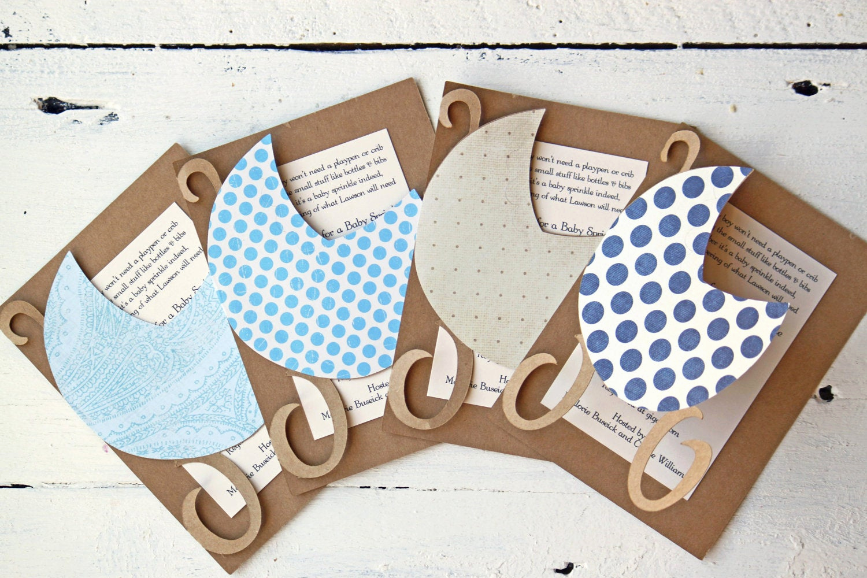 Diy Baby Shower Invitation Ideas Awesome Boy Baby Shower Invitations Custom Baby Boy by whenitrainsshop