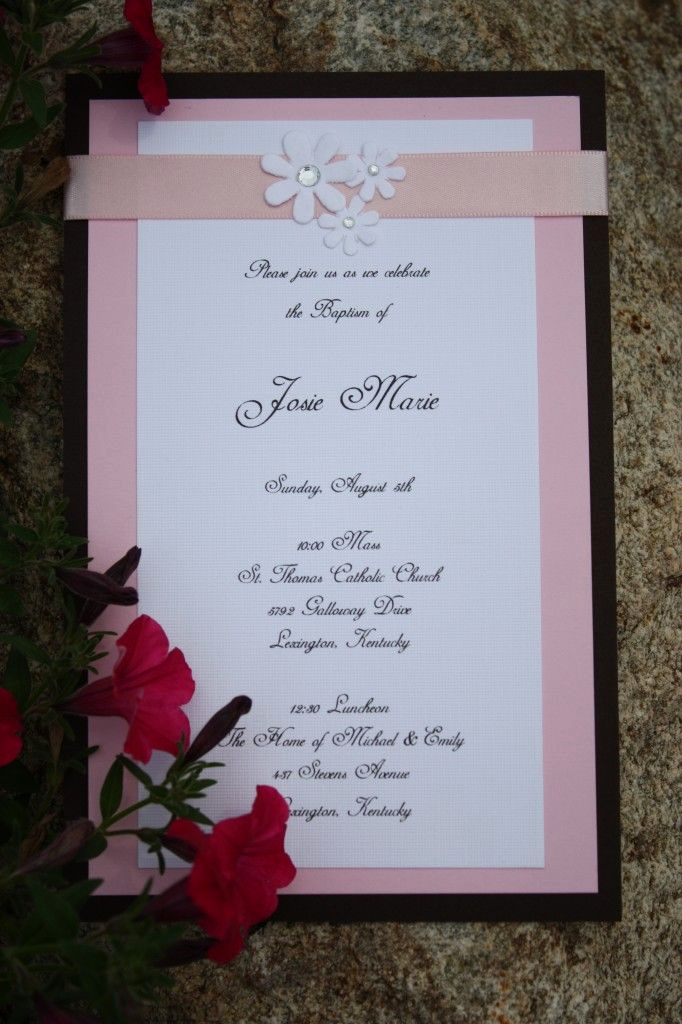 Diy Baby Shower Invitation Ideas Elegant Homemade Invitations Baptism2 Maybe Baby