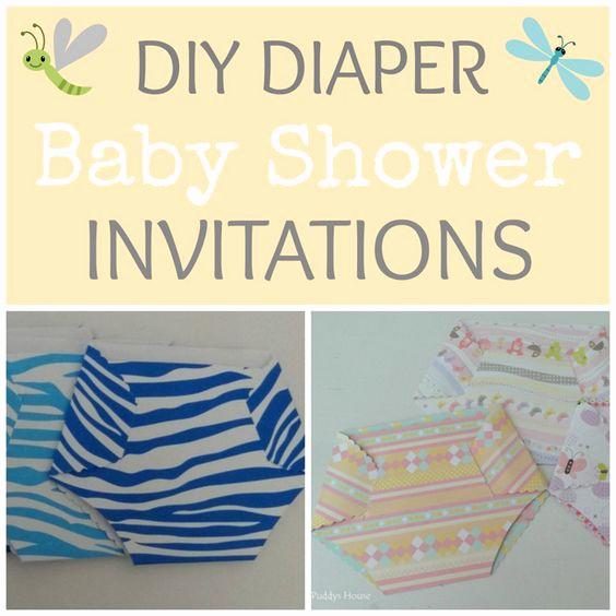 Diy Baby Shower Invitation Ideas New Pinterest • the World's Catalog Of Ideas