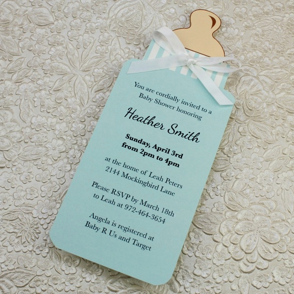 Diy Baby Shower Invitation Templates Awesome Diy Baby Shower Invitations Template 2018