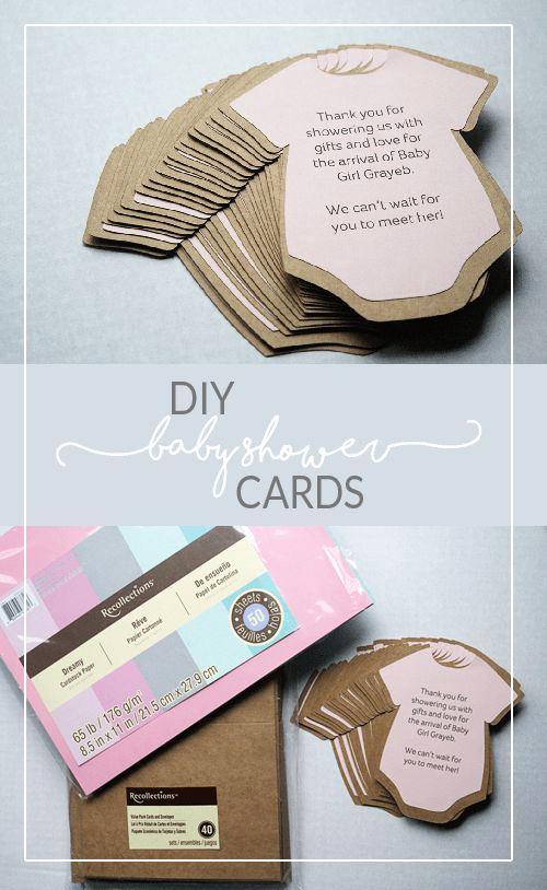 Diy Baby Shower Invitation Templates Beautiful Diy Baby Shower Invitations or Thank You Cards