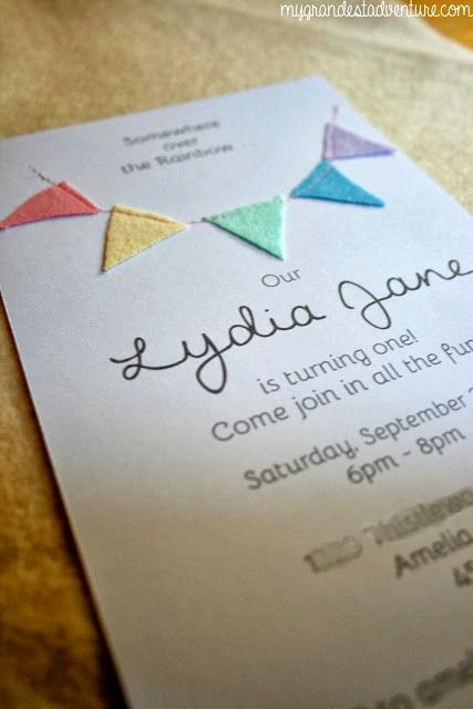 Diy Birthday Invitation Ideas Awesome 25 Best Ideas About Rainbow Invitations On Pinterest
