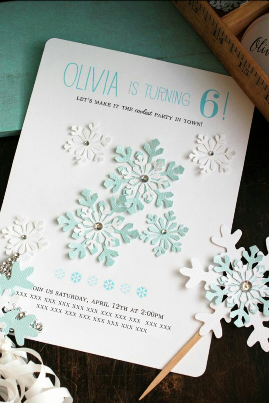 Diy Birthday Invitation Ideas Best Of A Diy Frozen Birthday
