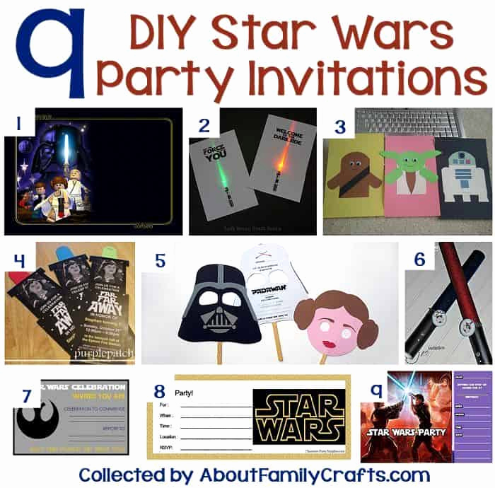 Diy Birthday Invitation Ideas Luxury the Best Star Wars Party Ideas 200 Foods Decorations