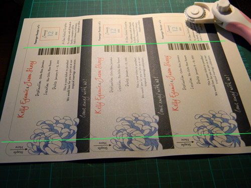 Diy Boarding Pass Invitation Awesome Diy Boarding Pass Wedding Invitations – Part Three the