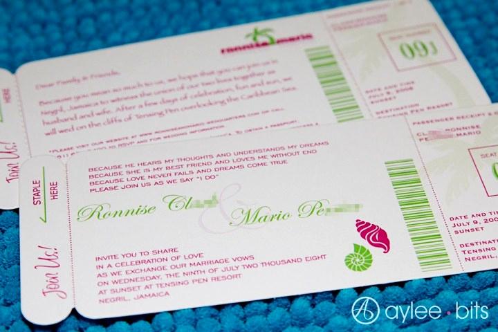 Diy Boarding Pass Invitation Unique Diy Boarding Pass Invitation Save the Date