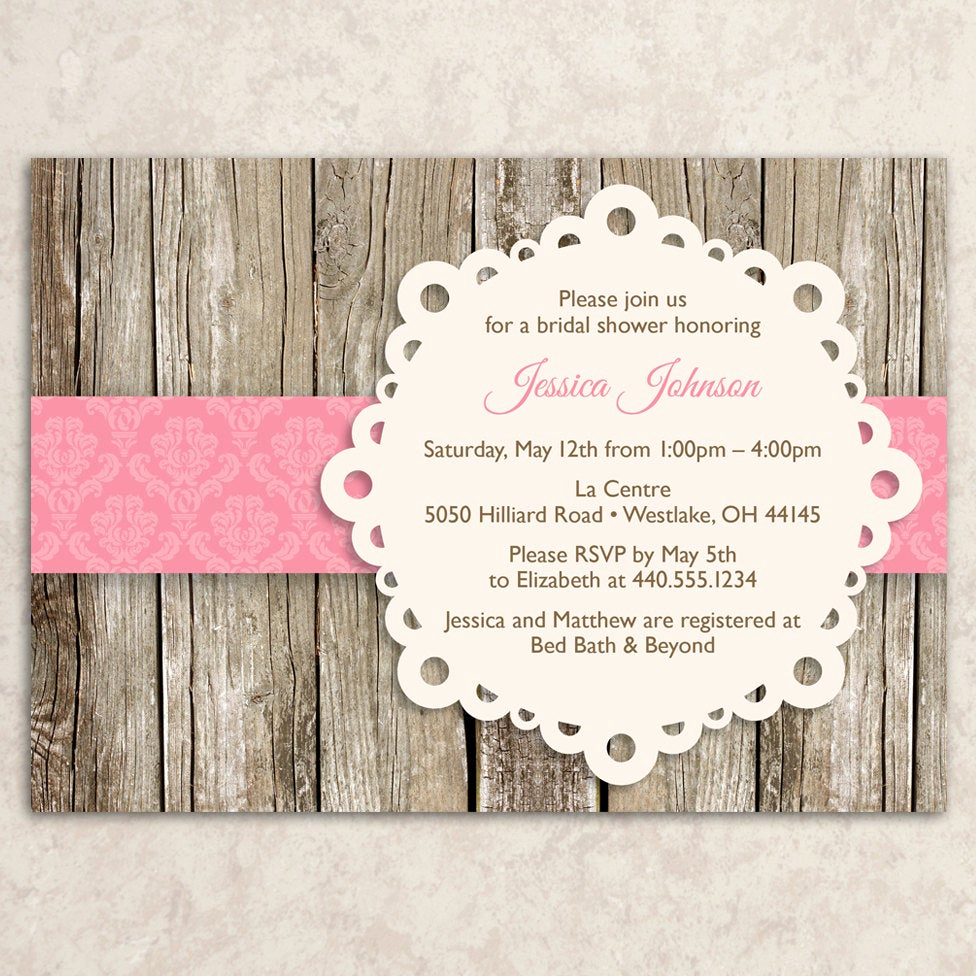 Diy Bridal Shower Invitation Templates Elegant 301 Moved Permanently