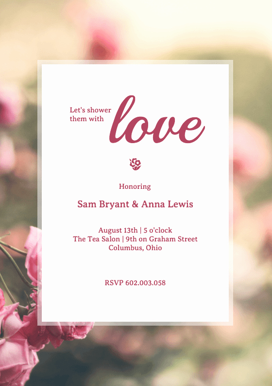 Diy Bridal Shower Invitation Templates Luxury 19 Diy Bridal Shower and Wedding Invitation Templates