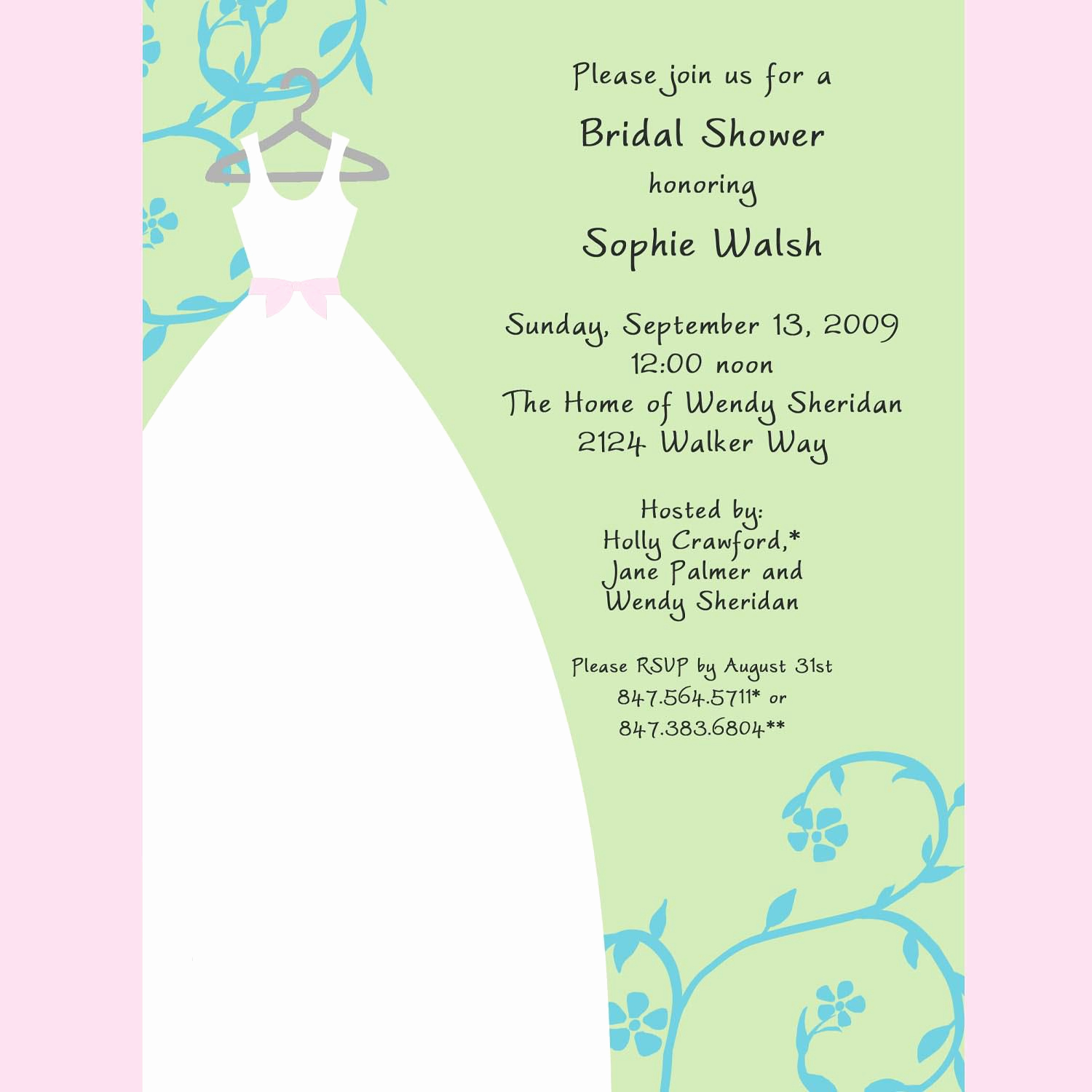 Diy Bridal Shower Invitation Templates Unique Free Bridal Shower Invitation Templates Free Around the