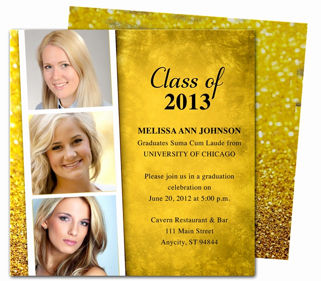 Diy Graduation Invitation Templates Free Fresh 46 Best Printable Diy Graduation Announcements Templates