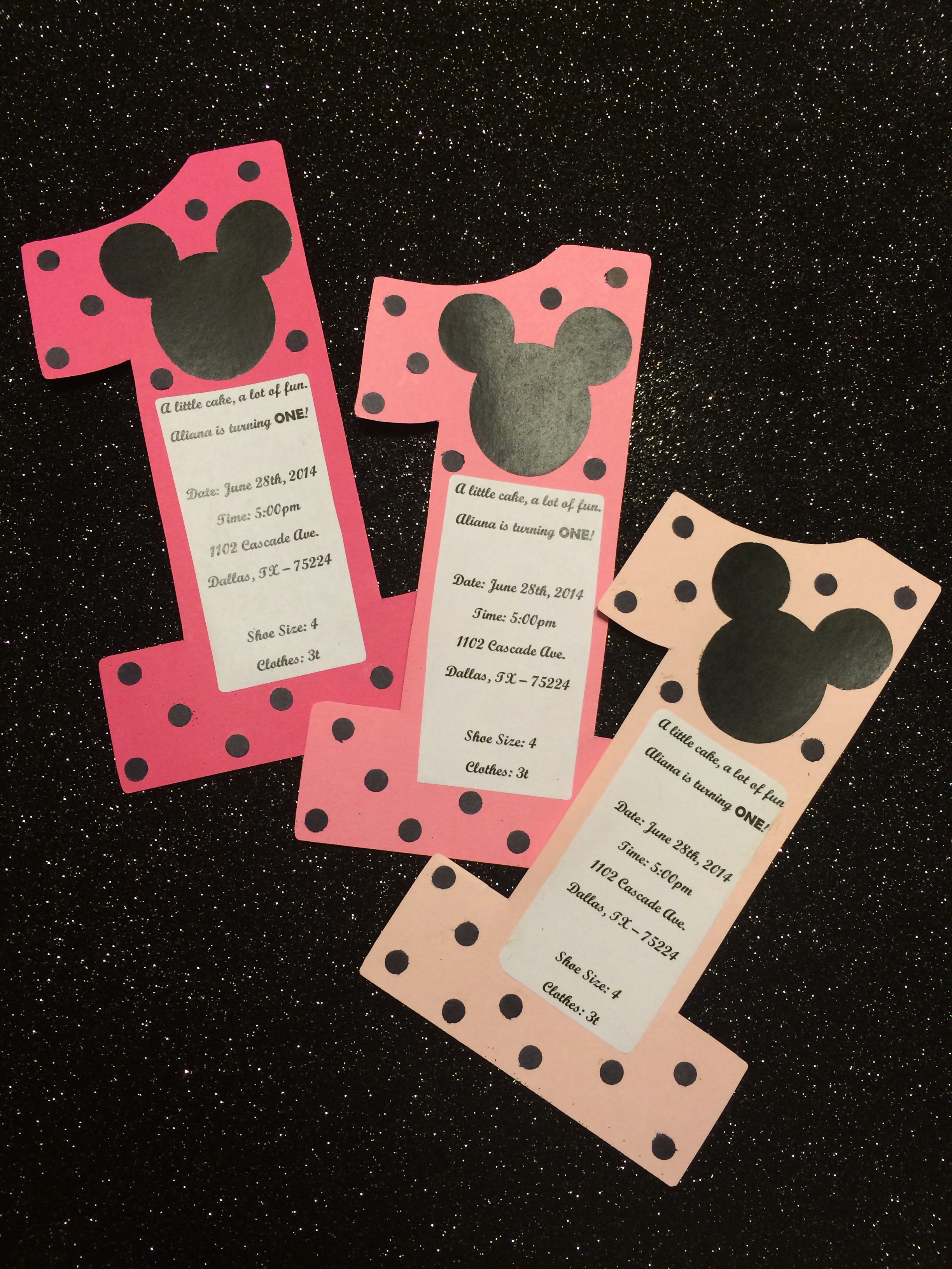 Diy Minnie Mouse Invitation Awesome Diy Minnie Mouse Invites