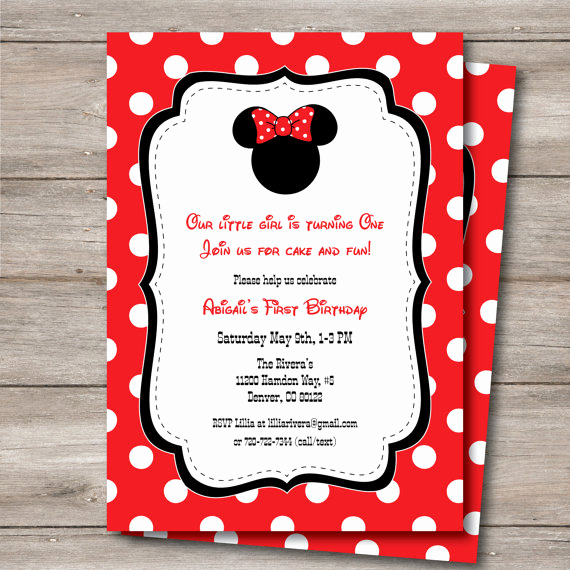 Diy Minnie Mouse Invitation Awesome Minnie Mouse Invitation with Editable Text Diy Printable