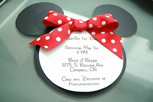 Diy Minnie Mouse Invitation Fresh Make Your Babys Birthday Party Invitations