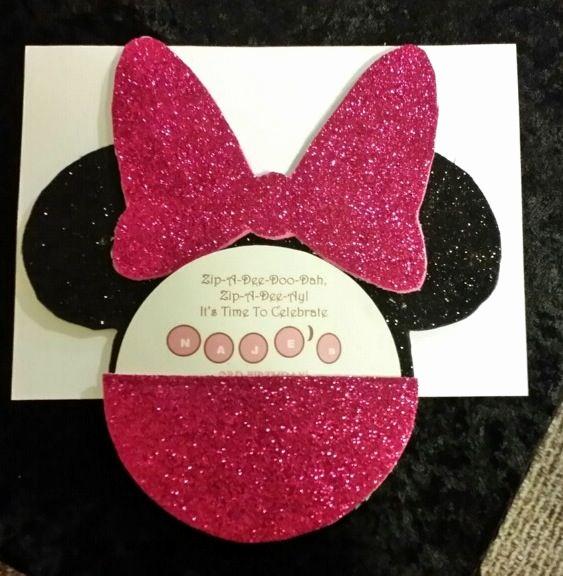 Diy Minnie Mouse Invitation Luxury Diy Minnie Mouse Invitations