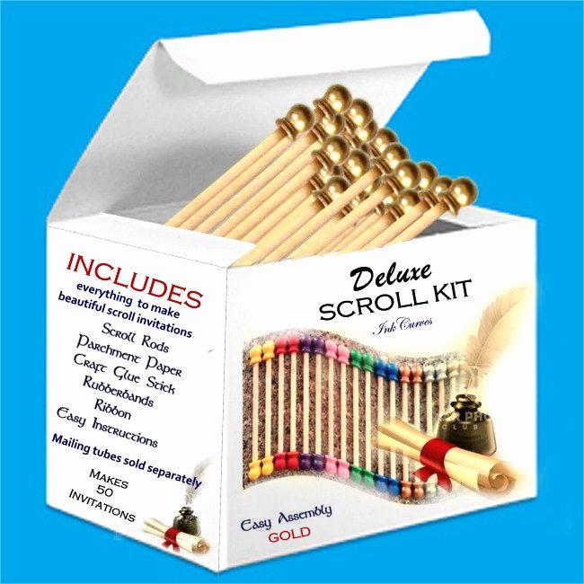 Diy Scroll Invitation Kit Elegant 25 Best Ideas About Scroll Invitation On Pinterest