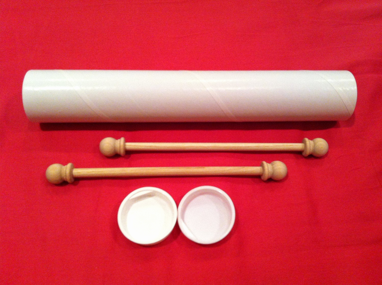 Diy Scroll Invitation Kit Elegant Set Of Diy Small Scroll Invitation Kit 5 Set Sample