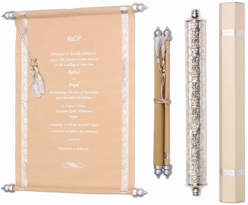 Diy Scroll Invitation Kit Luxury Scroll Wedding Invitation Party Supplies Birthday