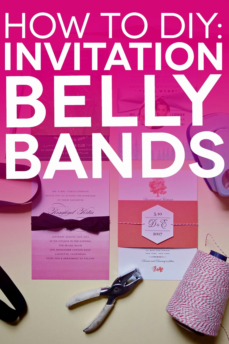 Diy Wedding Invitation Belly Band Best Of Free Printable Belly Bands and Tags for Your Diy Invitations