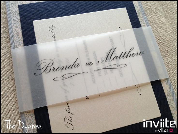 Diy Wedding Invitation Belly Band New 13 Best V E L L U M Images On Pinterest