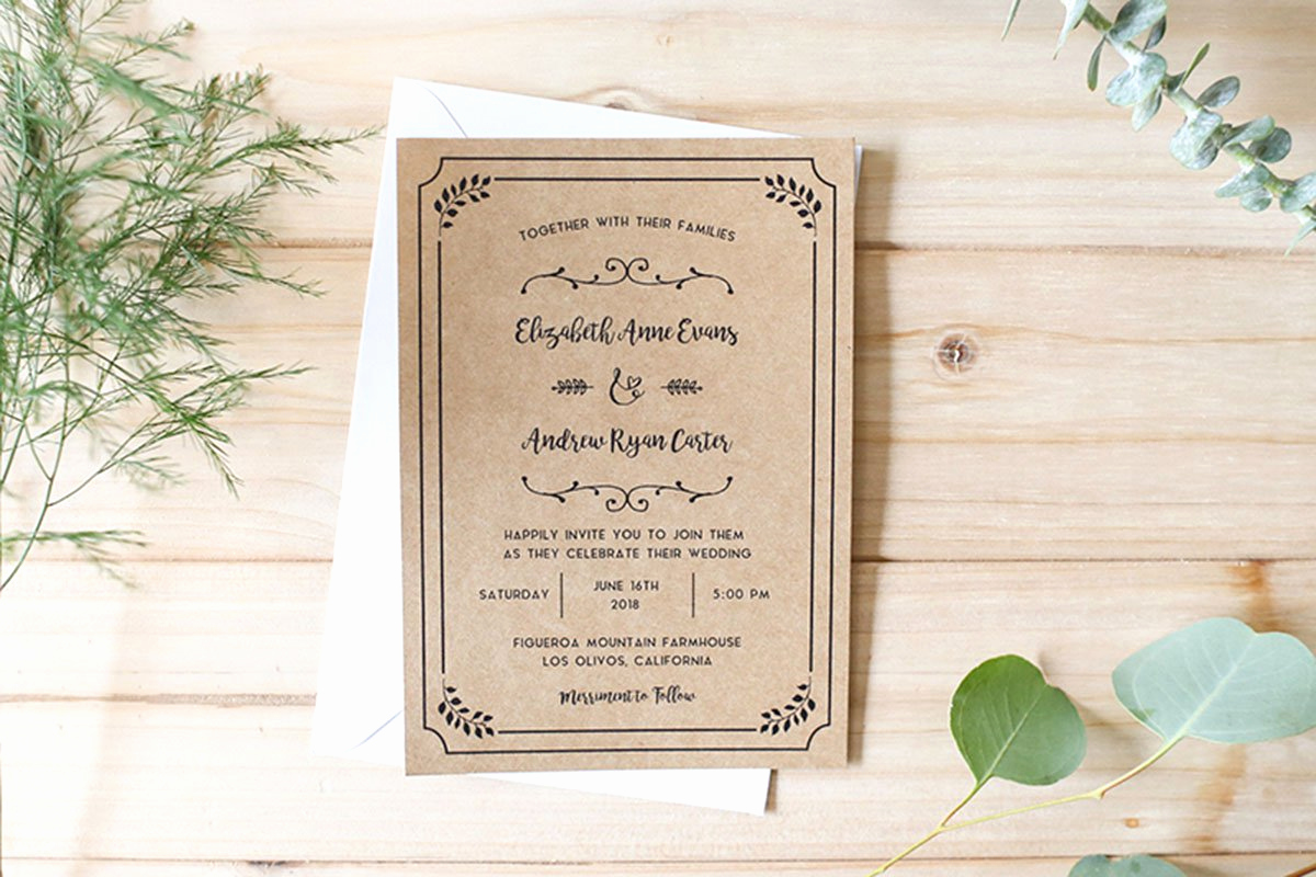 Diy Wedding Invitation Idea Inspirational Diy Wedding Invitations Your Ultimate Guide with Templates
