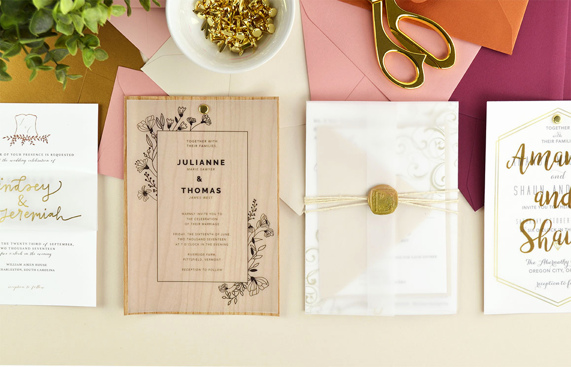 Diy Wedding Invitation Idea Lovely 4 Ways to Diy Elegant Vellum Wedding Invitations Cards