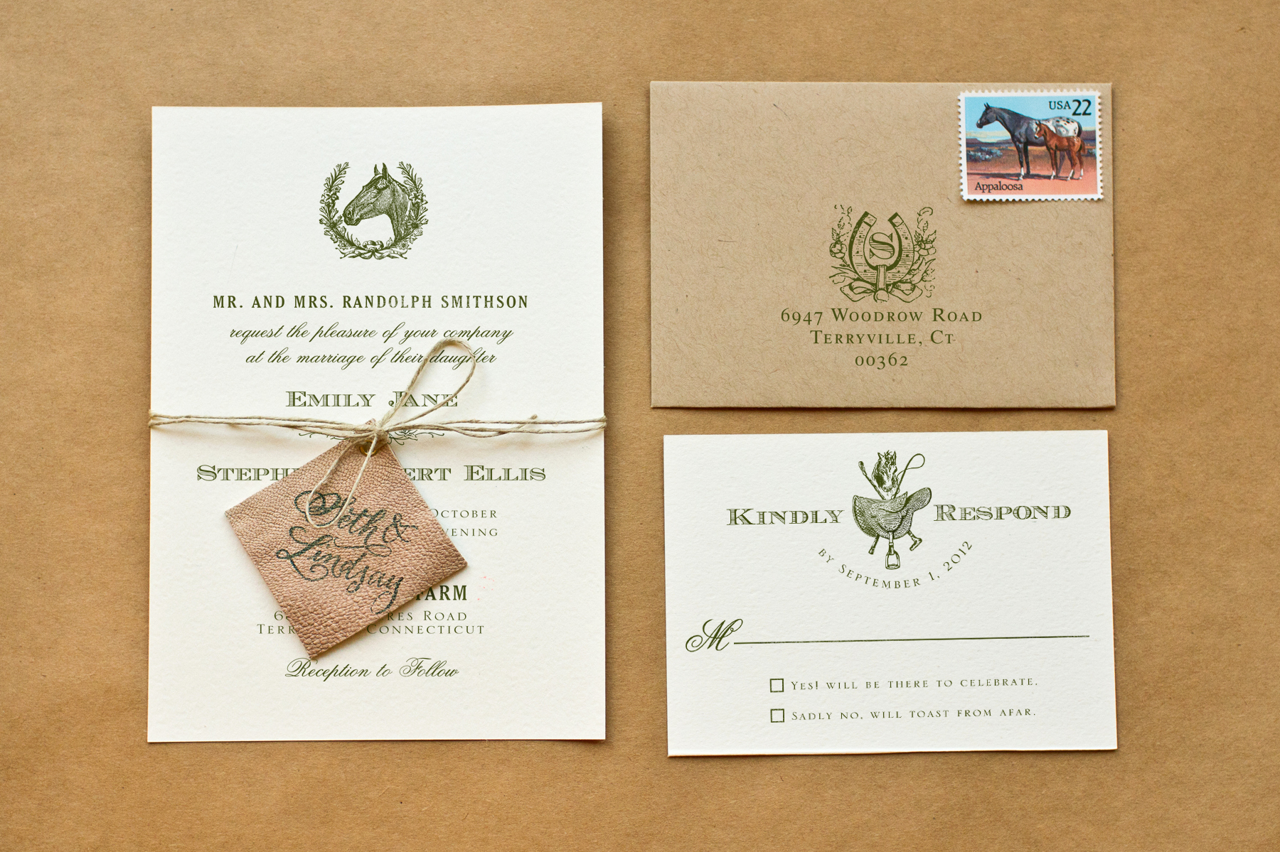Diy Wedding Invitation Idea Lovely Diy Rubber Stamp Equestrian Wedding Invitations