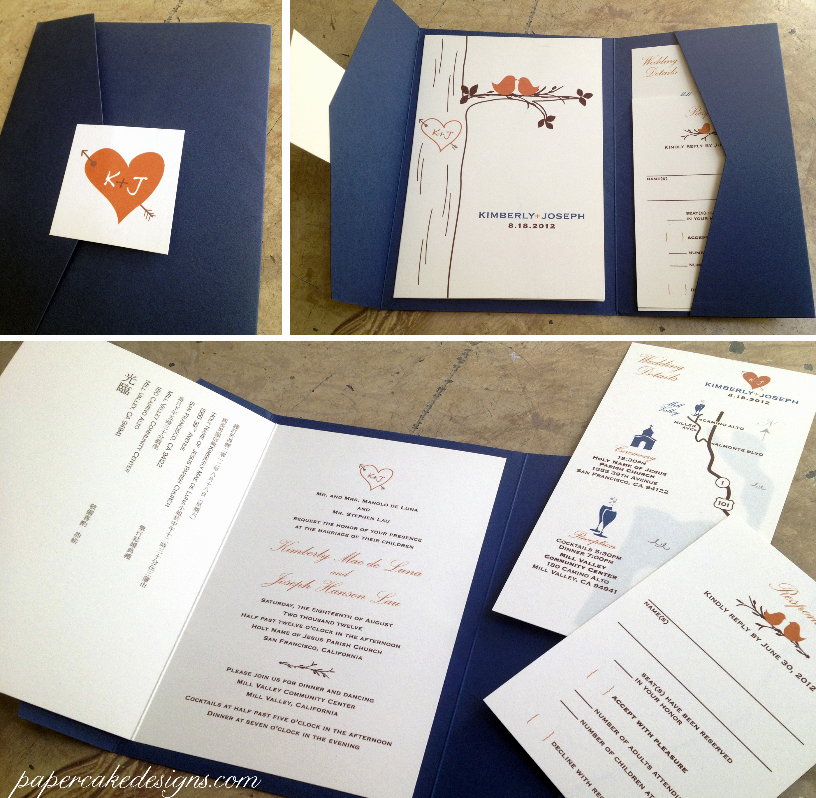 Diy Wedding Invitation Idea Luxury [diy Print & assemble] Wedding Invitations – Papercake