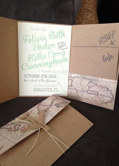 Diy Wedding Invitation Idea New Best 25 Creative Wedding Invitations Ideas On Pinterest