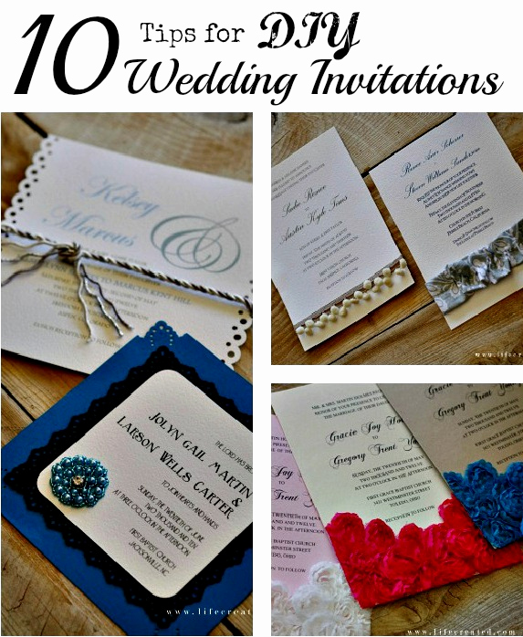 Diy Wedding Invitation Ideas Elegant Craftaholics Anonymous