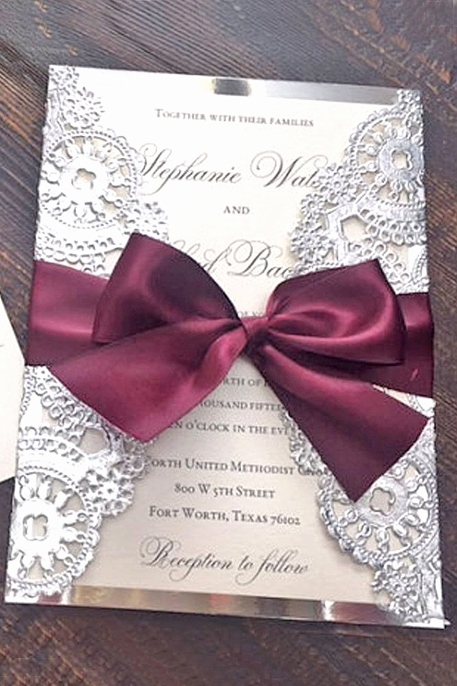 Diy Wedding Invitation Ideas Fresh 25 Best Ideas About Wedding Invitations On Pinterest