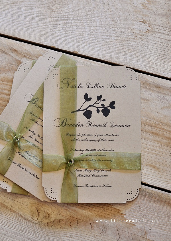 Diy Wedding Invitation Ideas Fresh Craftaholics Anonymous