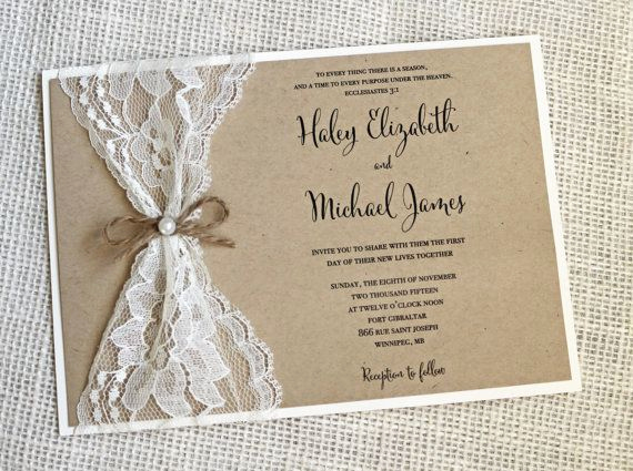Diy Wedding Invitation Ideas Inspirational Rustic Wedding Invitations Best Photos Cute Wedding Ideas