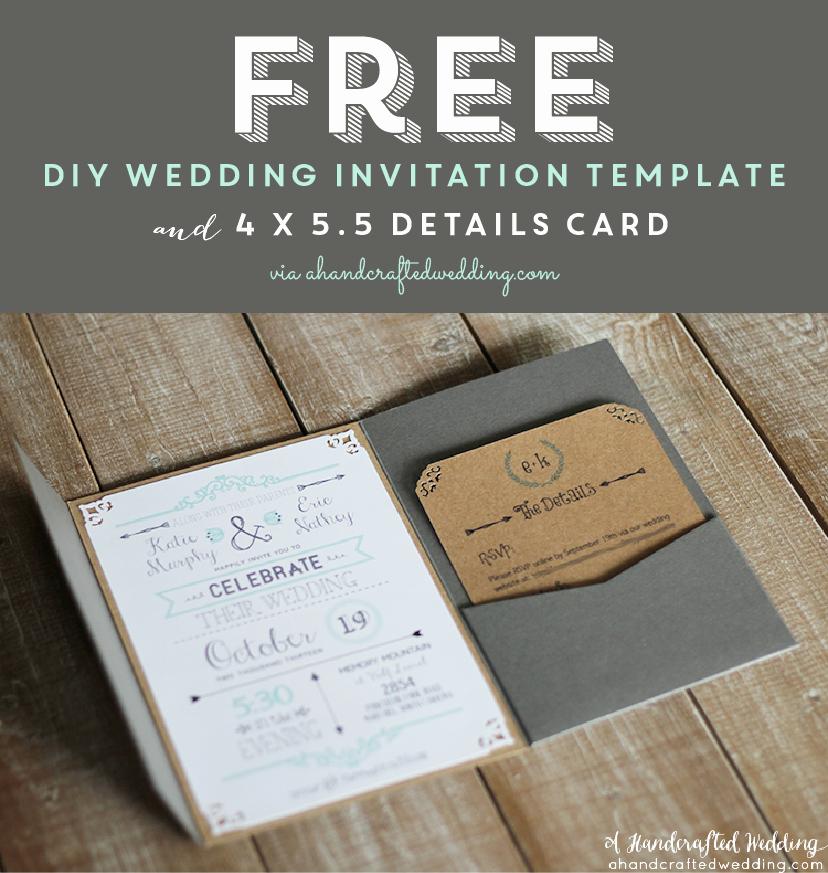 Diy Wedding Invitation Templates Unique Best 25 Free Printable Wedding Invitations Ideas On