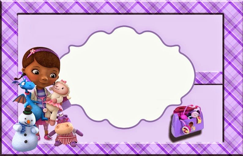Doc Mcstuffin Invitation Template Awesome Pin by Lynn On Party Doc Mcstuffins