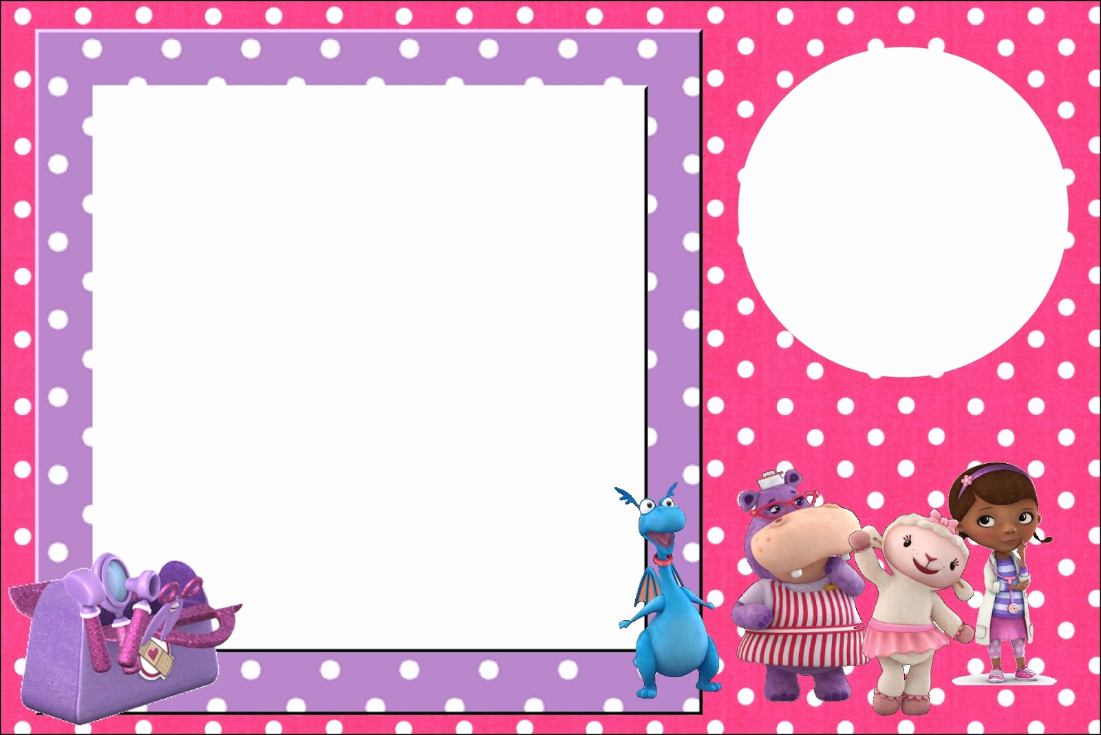 Doc Mcstuffin Invitation Template New Doc Mcstuffins Free Printable Invitations