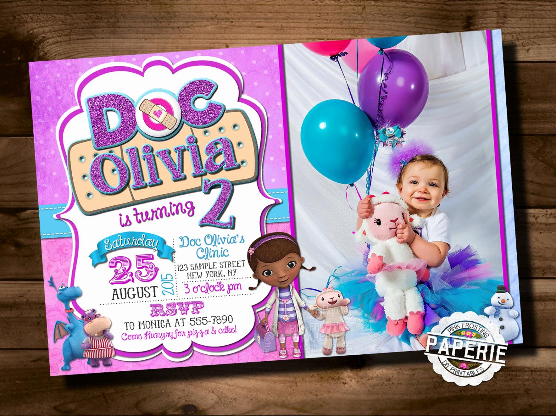 Doc Mcstuffins Birthday Invitation Template Luxury Doc Mcstuffins Birthday Invitation Doc Mcstuffins Party