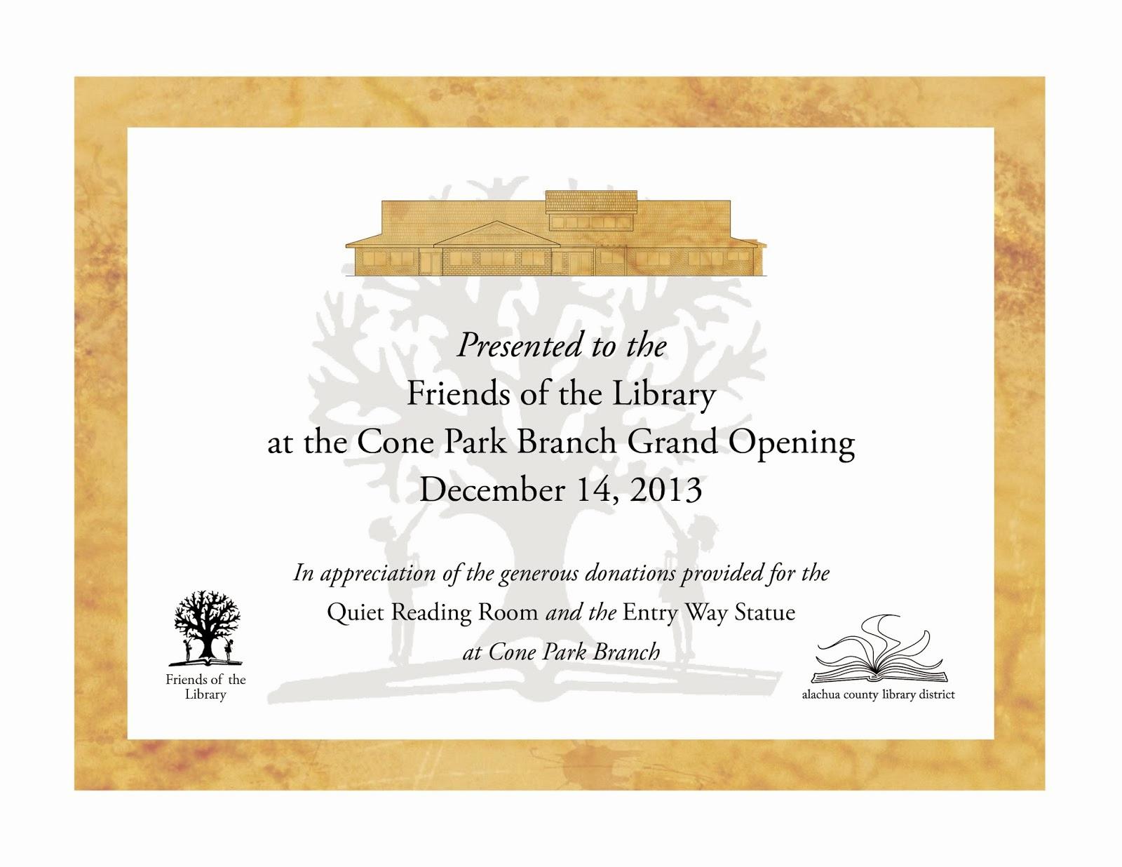 Donor Appreciation event Invitation Beautiful Library Graphic Design