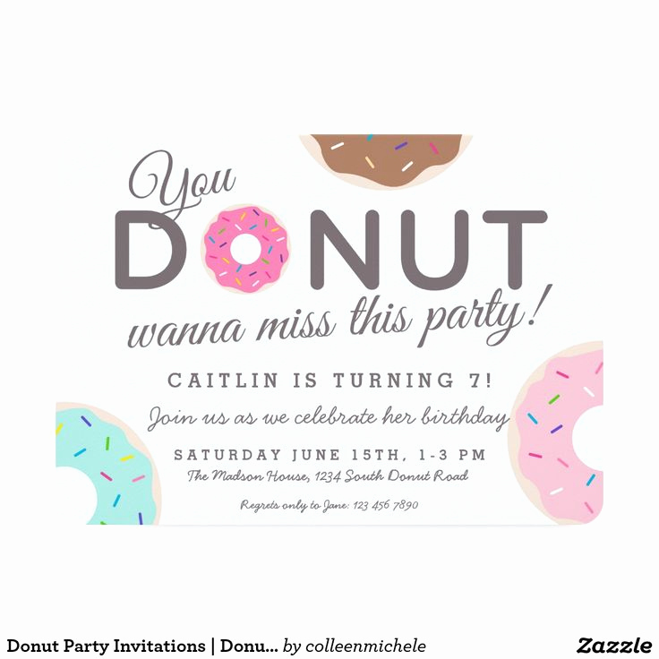 Donuts with Dad Invitation Awesome Best 25 Donut Birthday Parties Ideas On Pinterest
