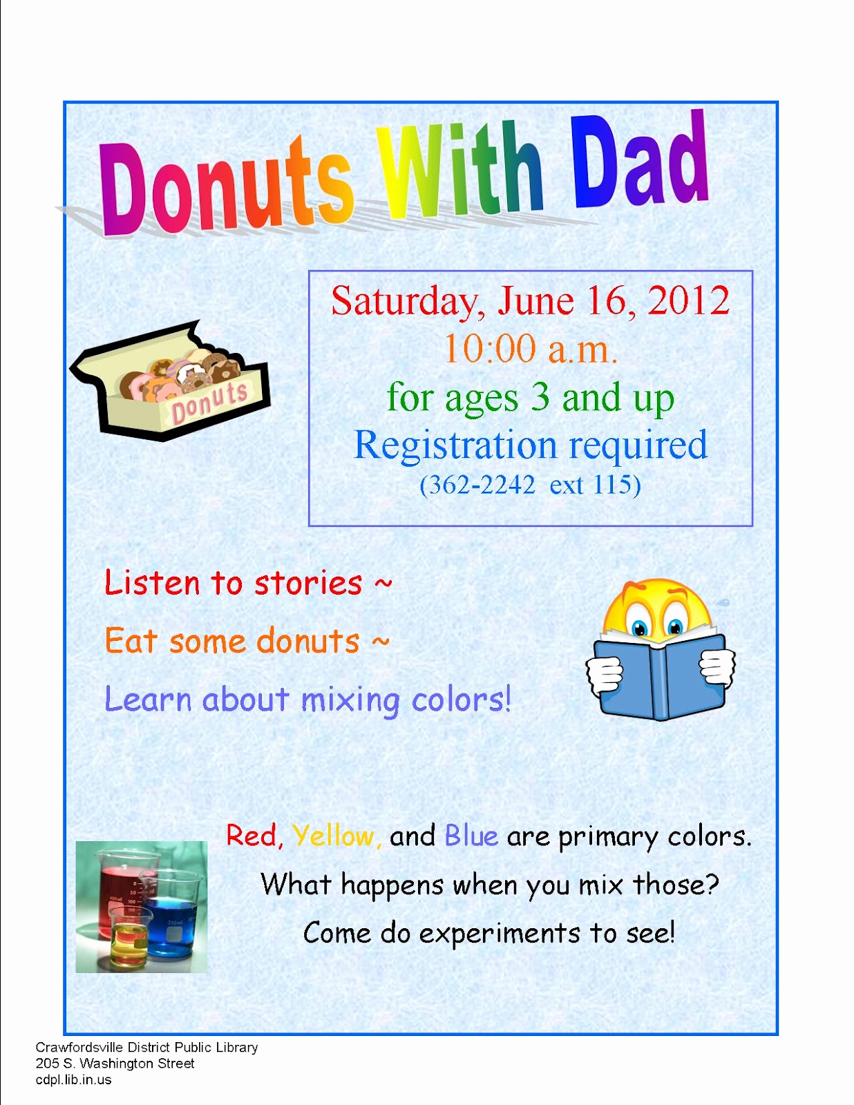 donuts with dad in june