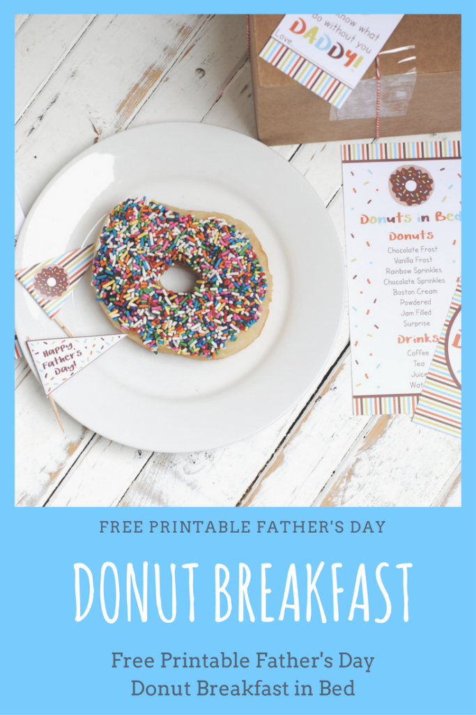 Donuts with Dad Invitation Fresh Free Printable Donut Father S Day Breakfast Katarina S