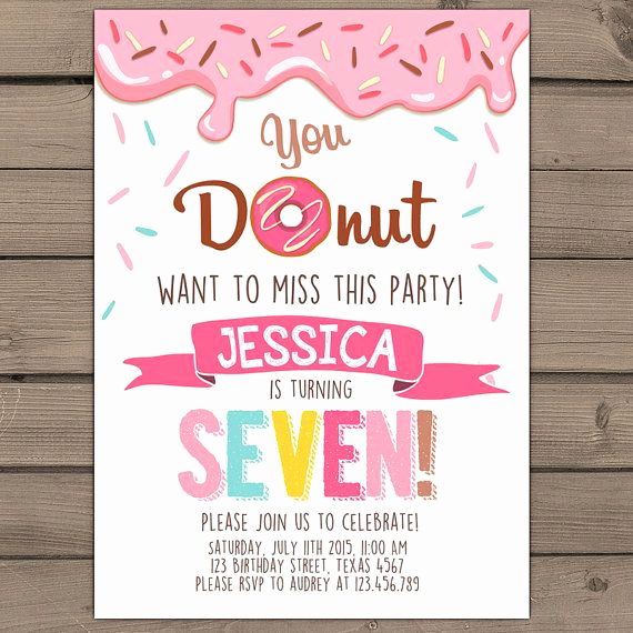 Donuts with Dad Invitation Unique Best 25 Donut Birthday Parties Ideas On Pinterest