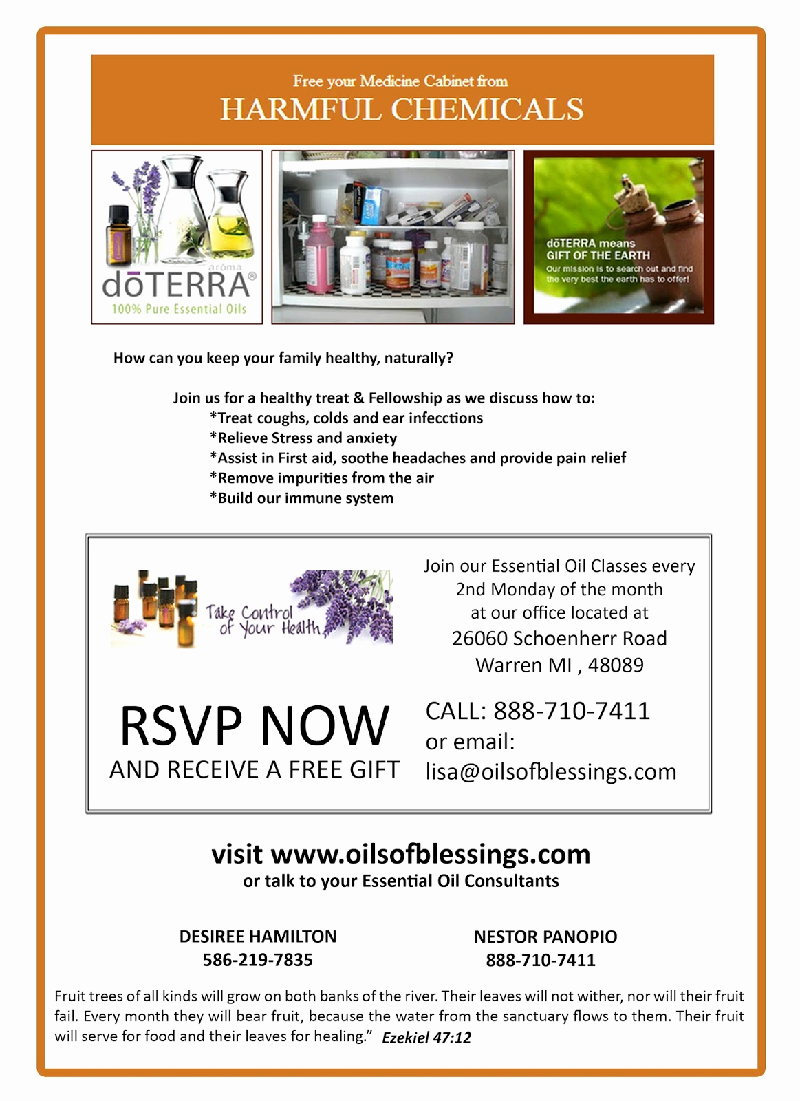 Doterra Essential Oil Class Invitation Elegant Doterra Invitation Template