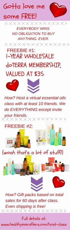 Doterra Essential Oil Class Invitation Fresh How to Earn Great Hostess Ts Like This Luxury